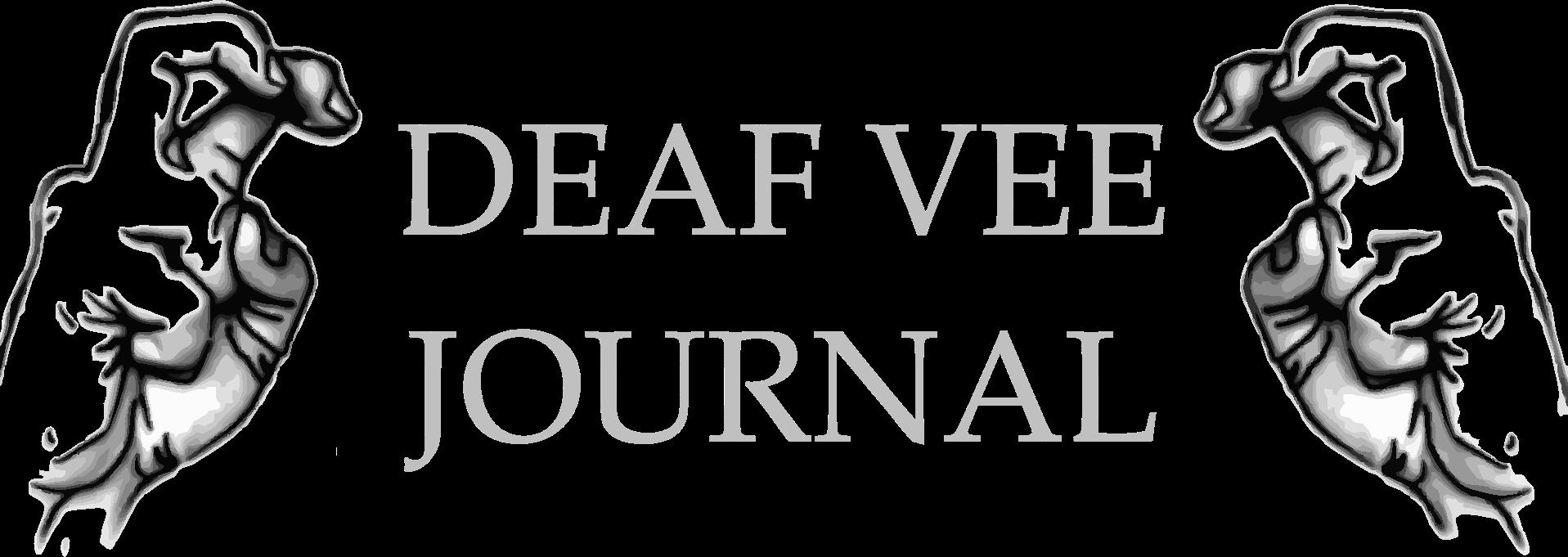 Deaf Vee Journal Announcement