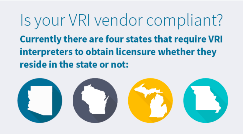 Are VRI Interpreters Breaking the Law?