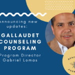 A New Breath of Life in the Department of Counseling at Gallaudet