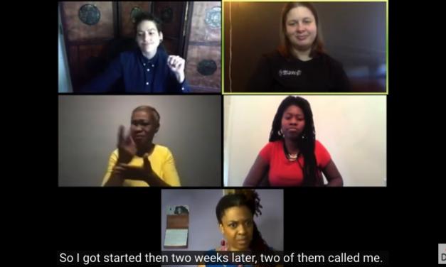 Georgia Segregated School Documentary Team Interview