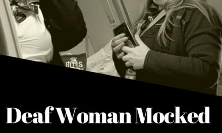 Deaf Woman Mocked by Frontier Flight Attendant